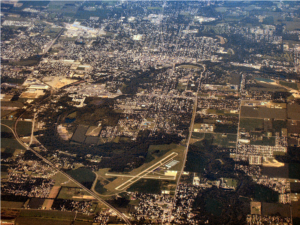 Anderson Indiana Aerial View